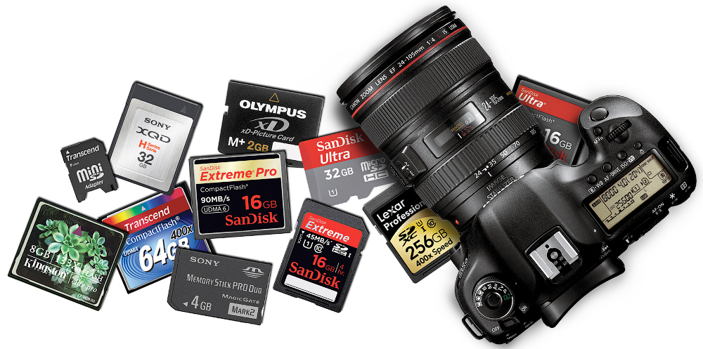 Recover pictures from camera memory card