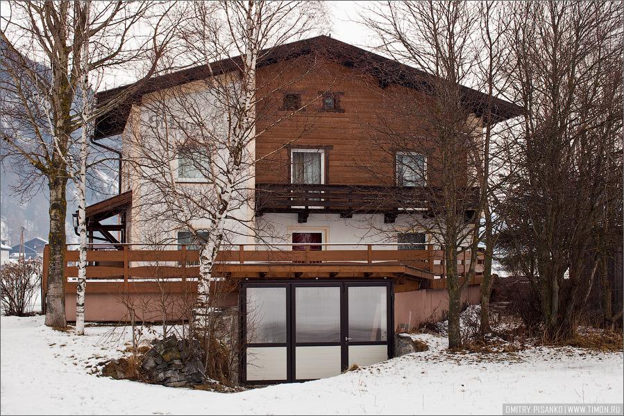 Австрия, Зельден 2009 - Горнолыжный отдых - Типичный австрийский домик