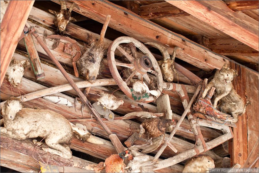 Австрия, Зельден 2009 - Горнолыжный отдых - Украшательство местных зданий