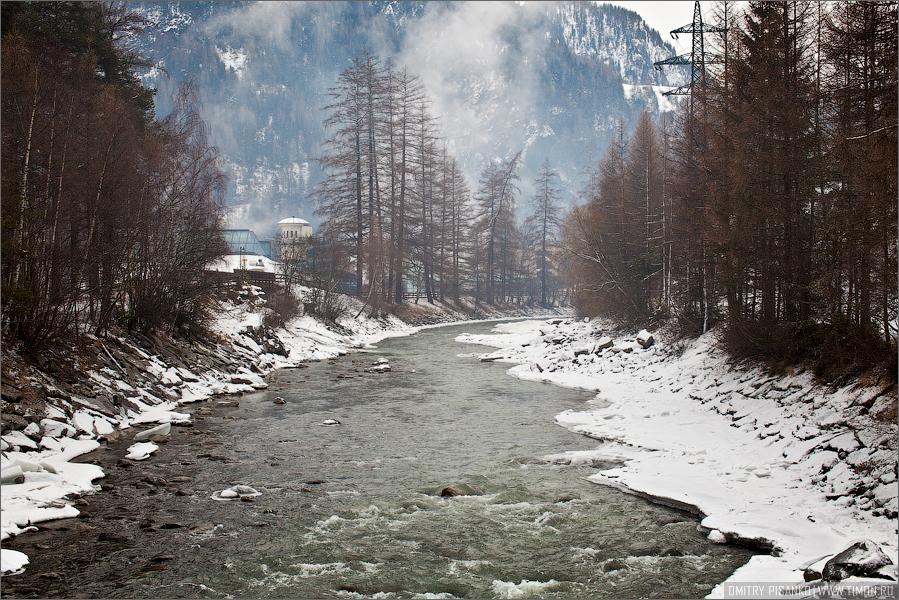 Австрия, Зельден 2009 - Горнолыжный отдых - Речка