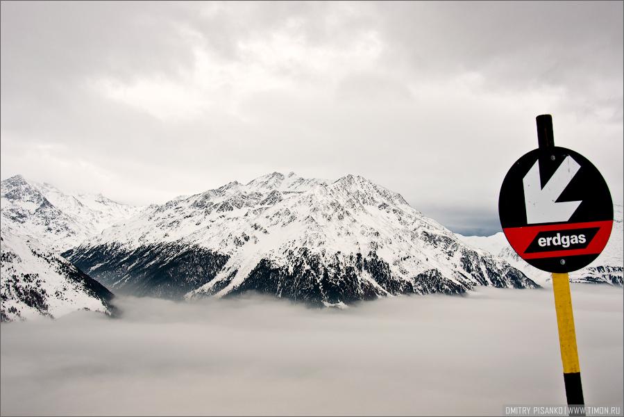 Австрия, Зельден 2009 - Горнолыжный отдых