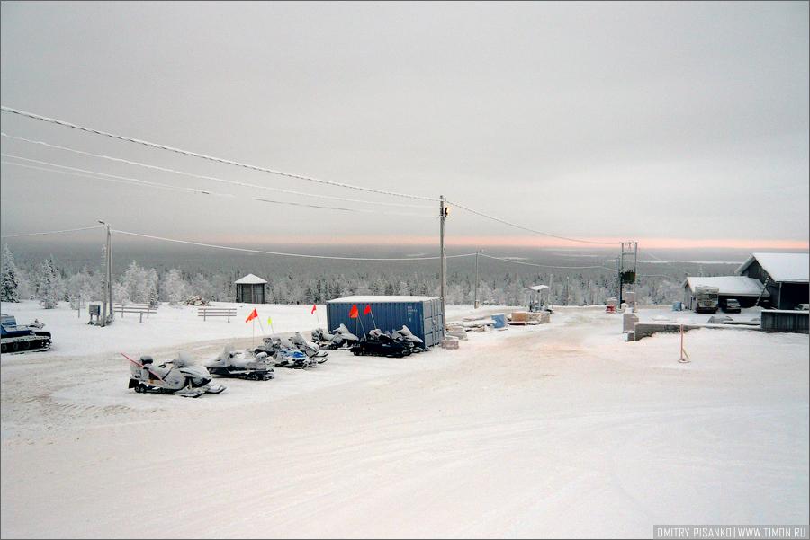 Горнолыжный курорт Юлляс
