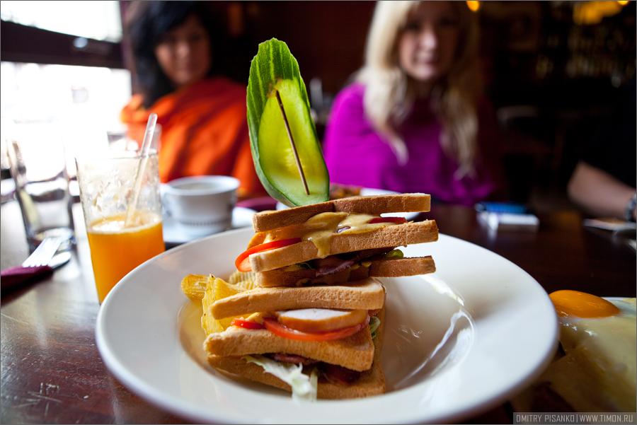 Амстердам похмельный и Волендам, часть шестая - Евротрип 2009 - Клаб-сендвич по-амстердамски
